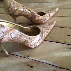 Steven by Steve Madden embellished heels